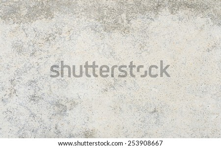 Grunge Concrete wall textured or background. - stock photo