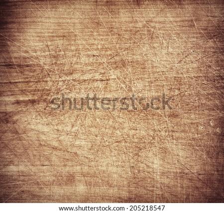 Grunge cutting board. Wood texture. - stock photo