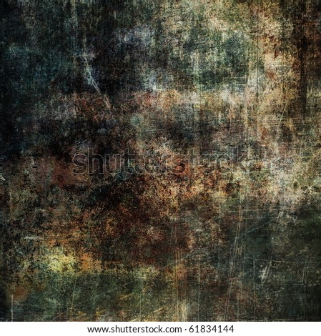 Grunge dirty texture, brown scratched surface, vintage background - stock photo