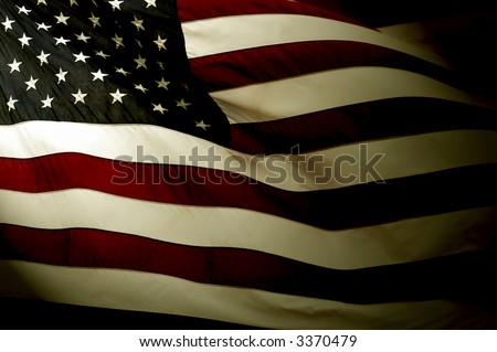 grunge flag - stock photo