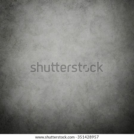 Grunge gray texture or background with Dirty or aging, space for text. - stock photo