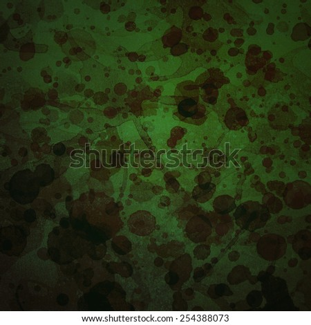 Grunge green background with place for text - stock photo