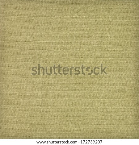 Grunge green linen fabric as background or texture. High resolution - stock photo