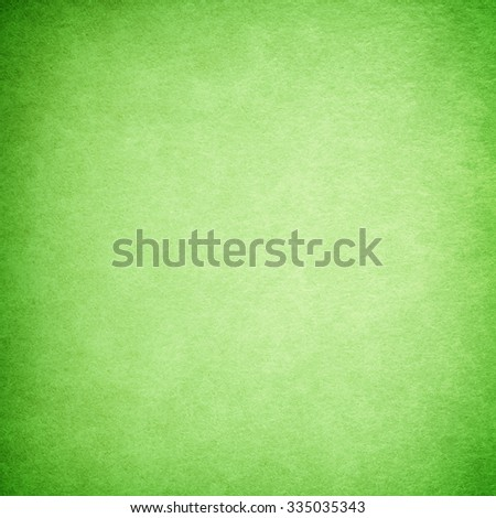 Grunge green paper texture or background, Grunge background. - stock photo