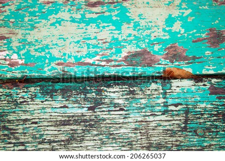 grunge green wood panels background  - stock photo