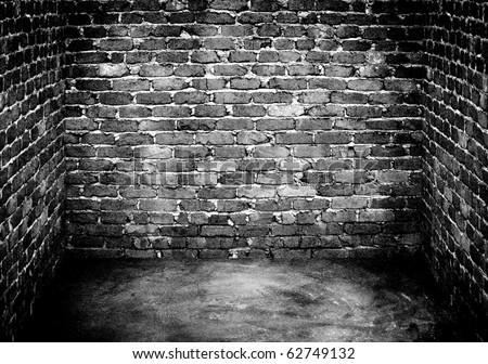 grunge house - stock photo