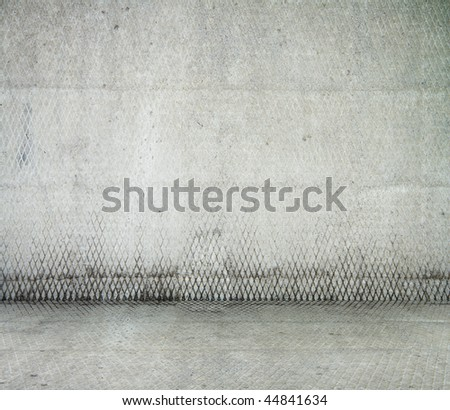grunge industrial interior, old room - stock photo