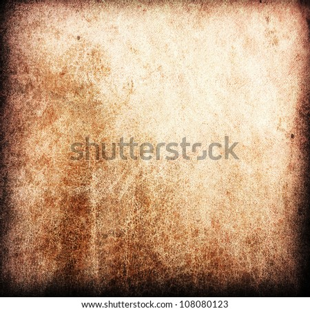 grunge leather texture used as background. - stock photo