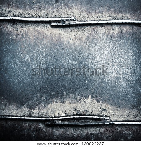 grunge metal background  ; - stock photo