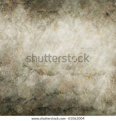 grunge metal plate background with space for text or image (big collection) - stock photo
