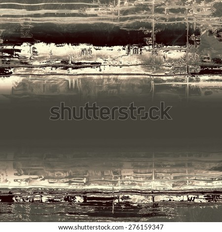 Grunge old-fashioned background with space for text or image. With different color patterns: brown; gray; black - stock photo