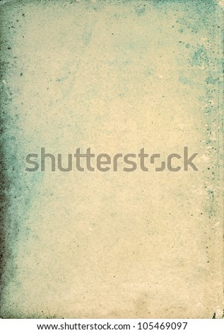 Grunge old paper texture, may use as background. - stock photo
