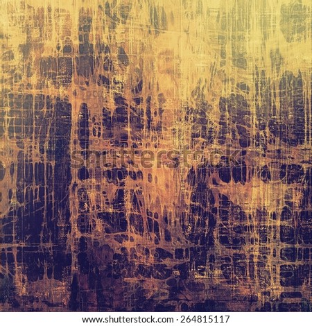 Grunge old texture as abstract background. With different color patterns: yellow (beige); brown; gray; purple (violet) - stock photo