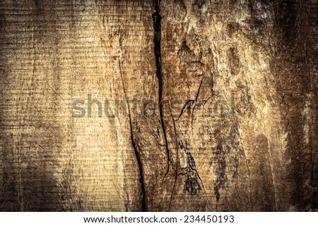 Grunge Old wood cracked texture background - stock photo