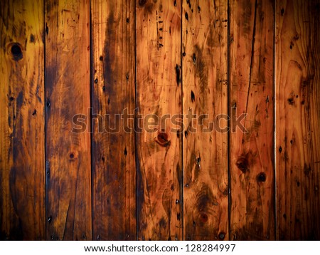 Grunge old wood panels for background - stock photo