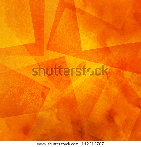 Grunge orange background - stock photo