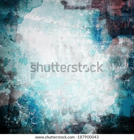 grunge paint background - stock photo
