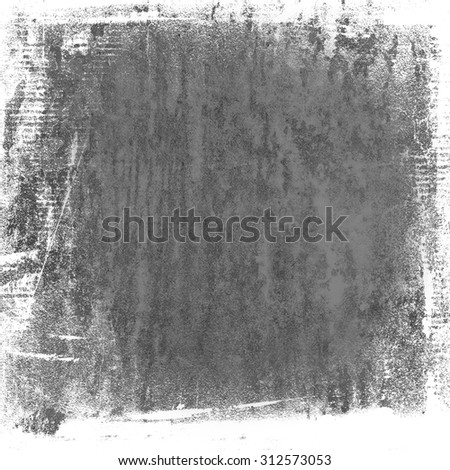 grunge paint texture on old canvas background - stock photo