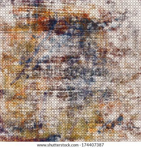 grunge painted backround - stock photo