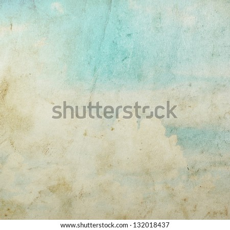 grunge paper background with space for text or image - stock photo
