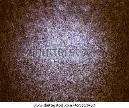Grunge Paper Texture, Vignette Background - stock photo