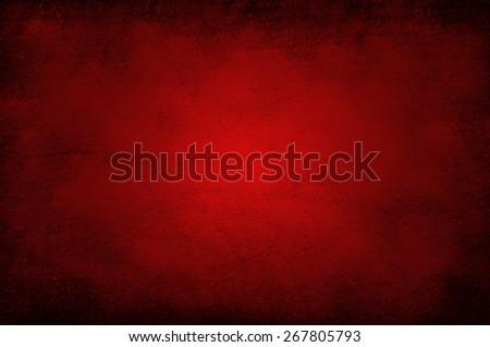 Grunge red background - stock photo