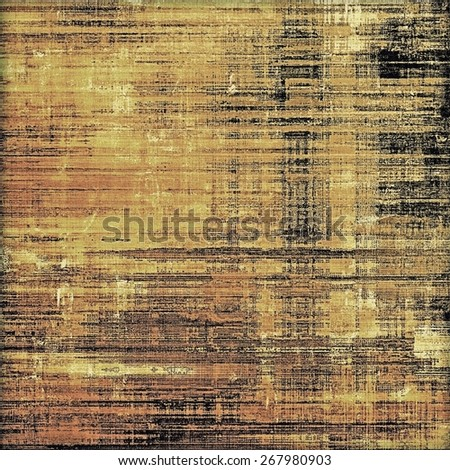 Grunge retro texture, elegant old-style background. With different color patterns: yellow (beige); brown; black - stock photo