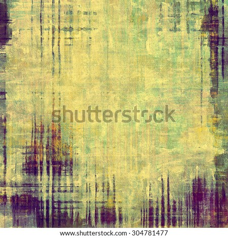 Grunge retro vintage texture, old background. With different color patterns: yellow (beige); brown; green; purple (violet) - stock photo