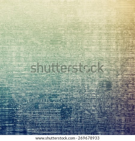 Grunge retro vintage textured background. With different color patterns: blue; brown; gray - stock photo