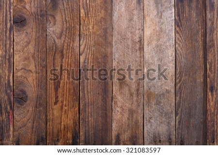 Grunge rustic wooden planks texture - stock photo