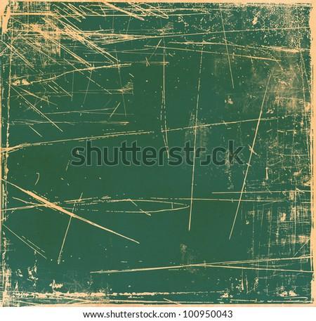 Grunge scratch background - stock photo