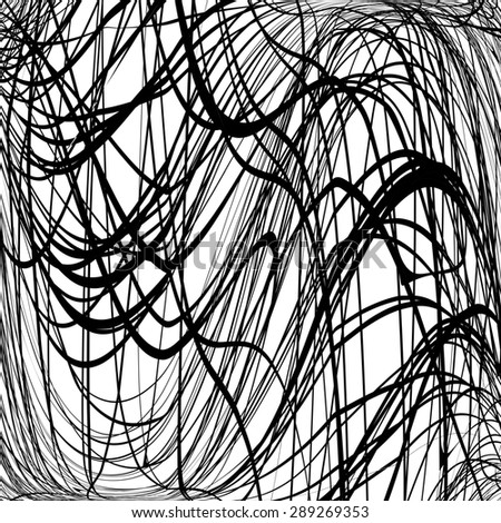 Grunge scribble texture for your design. - stock photo