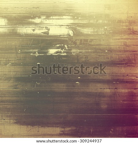 Grunge stained texture, distressed background with space for text or image. With different color patterns: yellow (beige); brown; gray; pink - stock photo