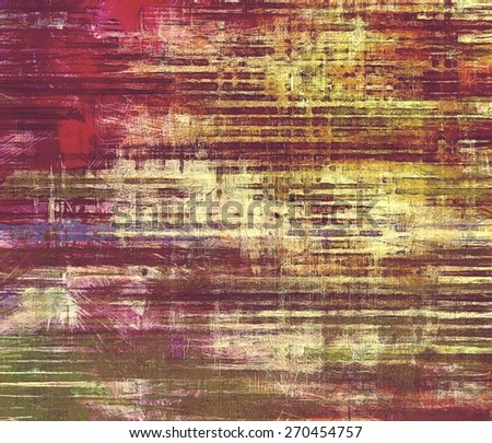Grunge texture, distressed background. With different color patterns: yellow (beige); brown; red (orange); purple (violet) - stock photo