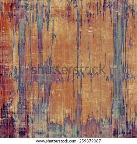 Grunge texture, may be used as background. With different color patterns: yellow (beige); brown; purple (violet); blue - stock photo