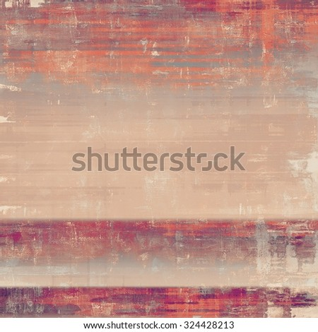 Grunge texture, may be used as retro-style background. With different color patterns: brown; red (orange); pink; purple (violet) - stock photo