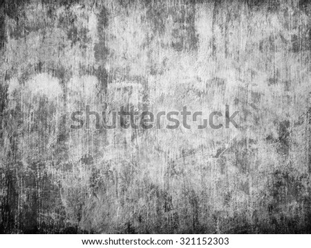 Grunge texture of dirty urban wall - stock photo