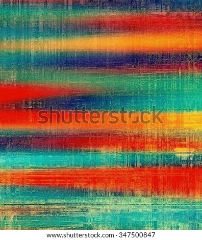 Grunge texture or background with space for text. With different color patterns: yellow (beige); blue; red (orange); green - stock photo