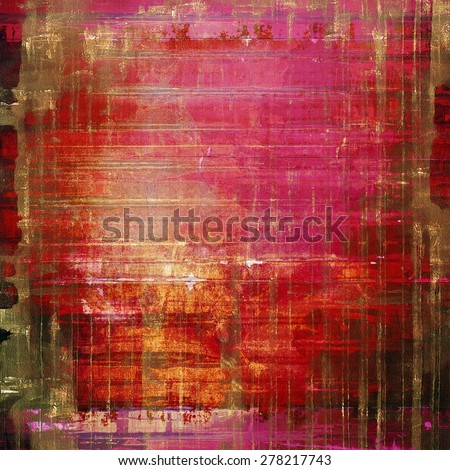 Grunge texture. With different color patterns: brown; purple (violet); red (orange); pink - stock photo