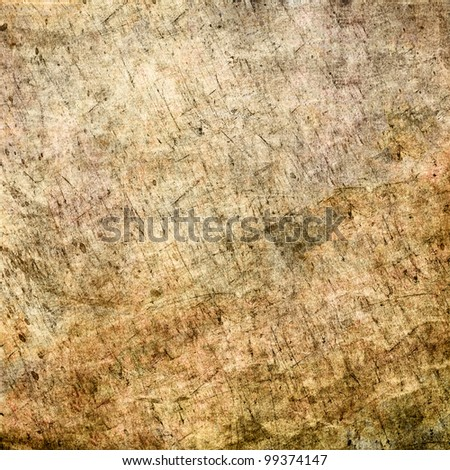 grunge texture with scratches - stock photo