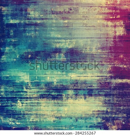 Grunge, vintage old background. With different color patterns: gray; blue; purple (violet); pink - stock photo