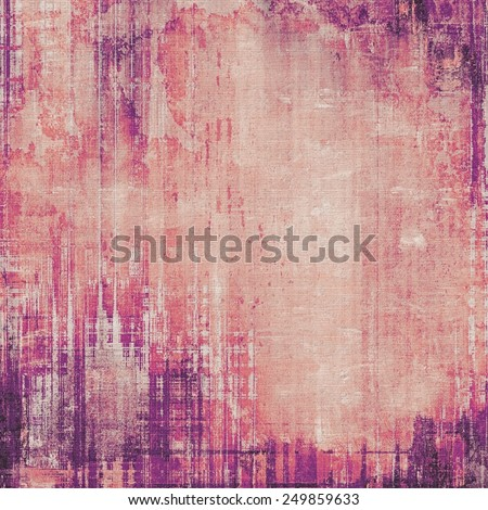 Grunge, vintage old background. With different color patterns: yellow (beige); purple (violet); red (orange); pink - stock photo