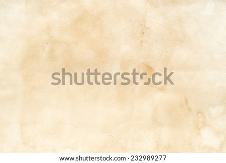 Grunge vintage paper texture background. - stock photo