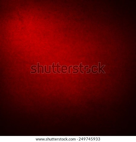 grunge wall background, dark red suede paper texture and vignette - stock photo