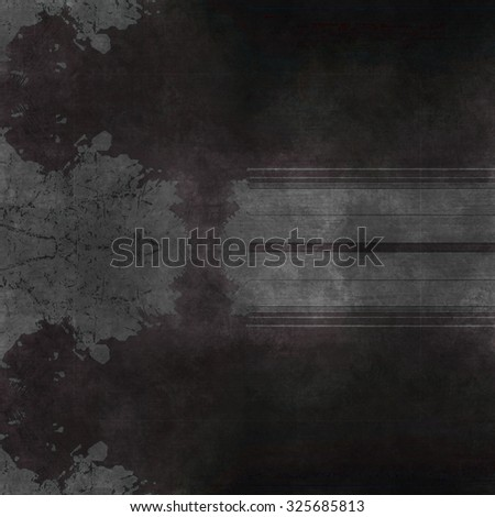 grunge wall, highly detailed textured background abstract - stock photo