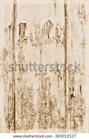 Grunge wall / Peeling paint surface background / Wall texture - stock photo