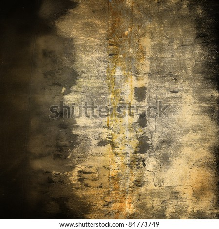 grunge wall texture background with stains. - stock photo