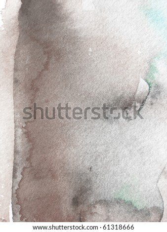 grunge watercolor paint background design - stock photo