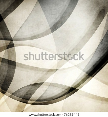 Grunge wave background - stock photo