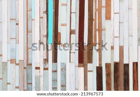 Grunge wood plank background. - stock photo